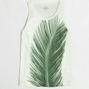 J. Crew photographic palm collector tank XS